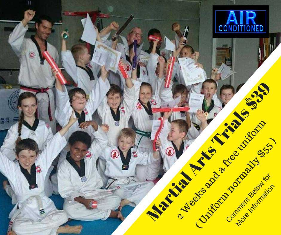 Martial Arts Trials $39 Craig Guest_Air-Conditioned
